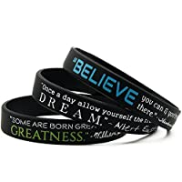 Motivational Quote Wristbands 3