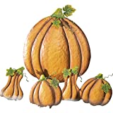 Collections Etc Fall Pumpkin And Gourd Halloween Lawn Stake Decorations