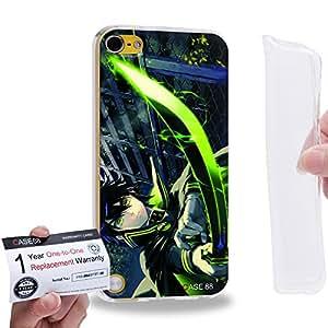 Case88 [Apple iPod Touch 5] Gel TPU Carcasa/Funda & Tarjeta de garantía - Seraph of the End Yuichiro Hyakuya Guren Ichinose Shinoa Hiragi Mikaela Hyakuya 1294
