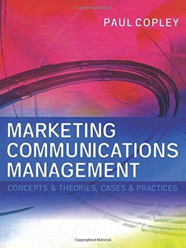 Marketing Communications Management by Paul Copley - Copley Shopping Mall