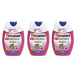 Theramed Junior 2 In 1 Toothpaste + Mouthwash 6+ Years 75ml ( Pack of 3)