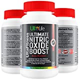 #1 Nitric Oxide Booster - L Arginine Blend Best Pre Workout Pill + Builds Muscle Fast + Increases Strength + Reduces Recovery Time + Maximizes Endurance