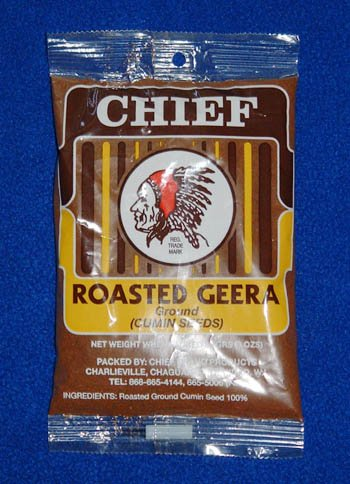Chief Roasted Geera Ground Cumin Seeds 230g, 8.1 Oz - Roasted Ground