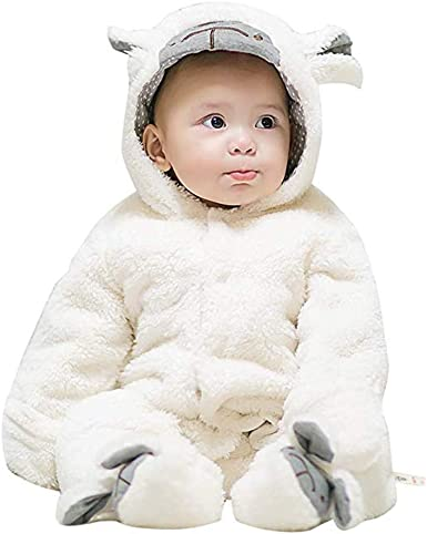 Infant Toddler Child Teddy Bear Jumpsuit Cute Baby Halloween Unisex Costume NEW