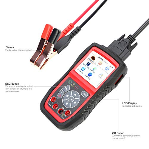 Autel AL539B Battery Tester OBD2 Code Reader OBDII Scanner Professional Electrical Test Tool Avometer by Autel (Image #2)