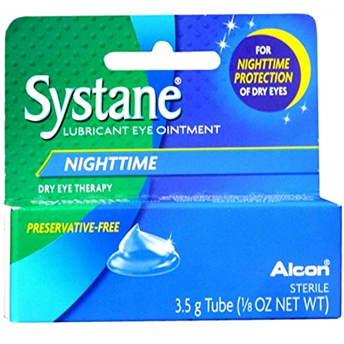 Artificial Tears Ophthalmic Solution - Systane Nighttime Lubricant Eye Ointment, 3.5 g