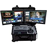 All in one (built in robotic camera controller)Full HD portable 4ch video Live switcher, live keying, titeling and more