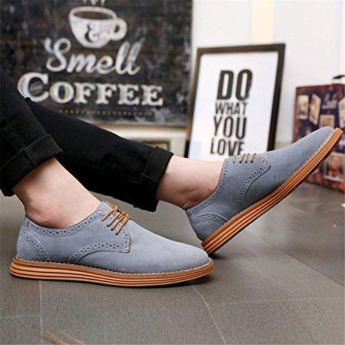 AARDIMI Chaussures à Lacets Homme Gris n7JaIqr