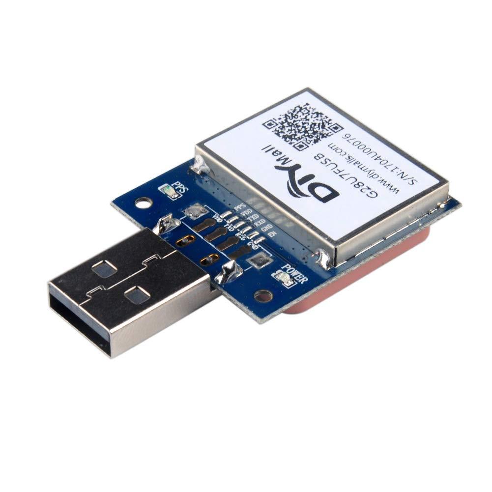 VK-162 USB Gmouse GPS Dongle Track Navigation Modulo ricevitore Supporto Raspberri Pi Linux Win7 Google Earth non compatibile con IOS Andriod WIshiot