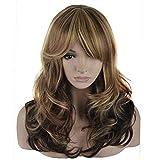 eNilecor 3 Tones Blonde Mixed Wigs 20 Inch Medium