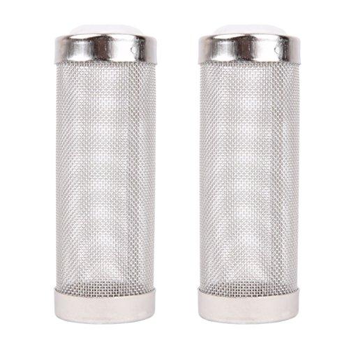 (Powkoo Intake Strainer Filter, Aquarium Fish Tank Pre-Filter Intake Filter Cover Filter Guard (S))