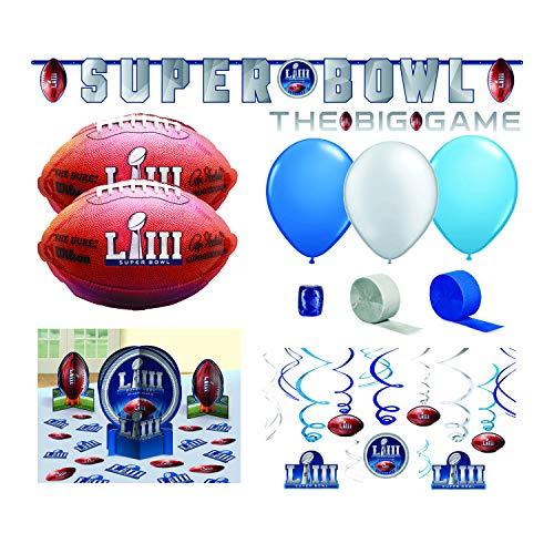Ziggos Party Super Bowl 53 Decoration Value Pack -