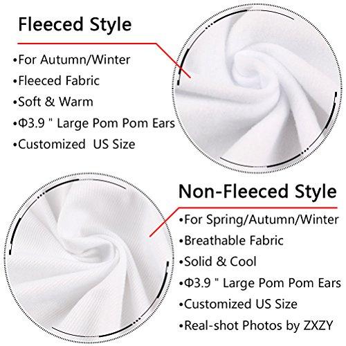 ZXZY Women Cute Cotton Blend Long Sleeve Panda Print Hoodies Pullover Tops