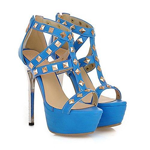 De Mujer Azul Vestir Adee Para Sandalias Fq5TxwH