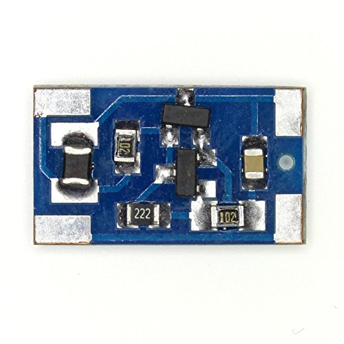 Joule Thief DIY Kit - No toroid inductor. SMD DC-DC Includes LED