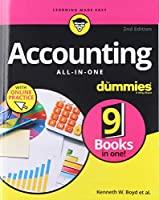 Accounting All-in-One For Dummies, 2nd Edition Front Cover