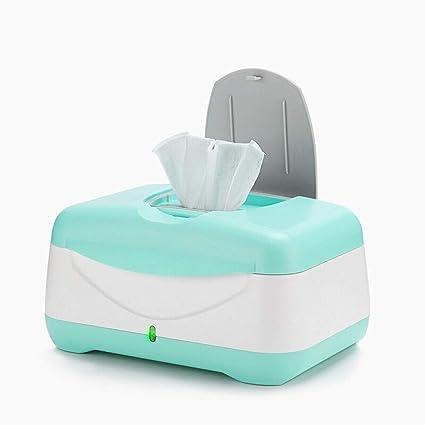Baobei Limpiador de toallitas húmedas para bebés y toallas húmedas | Titular | Estuche con luz