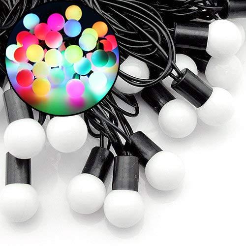 Led Color Changing Globe String Lights in US - 6