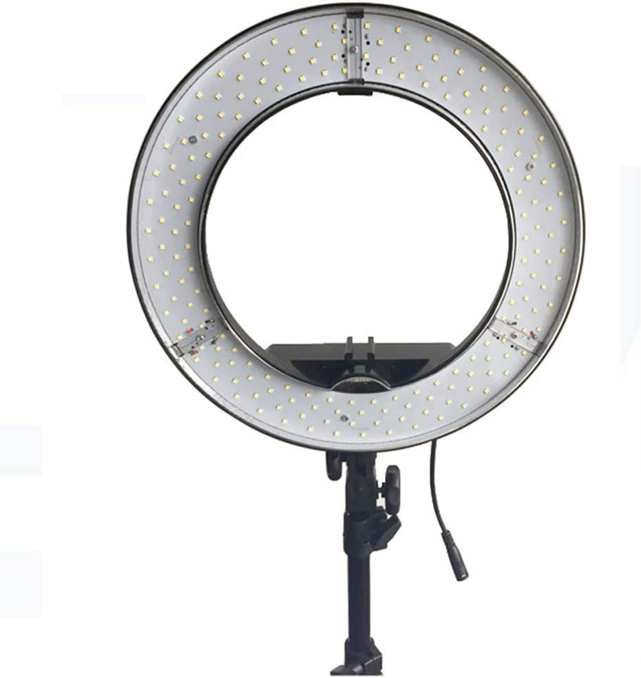 Ring Light 24 Inch 3200-5500k Dimmable Led Ring Lighting Kit with 2M Tripod Work with Smartphone and Camera for Photography Live Stream