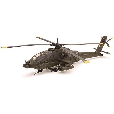 NewRay 25523 Sky Pilot 1:55 Apache Ah64 Die Cast Aircraft: Toys & Games