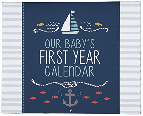 Carter's First Year Calendar, Stickers Provided, Measures 11 x 18