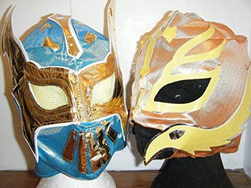 ASHLEYS Rey Mysterio And Sin Cara Mask Pack 2 Masks Included -