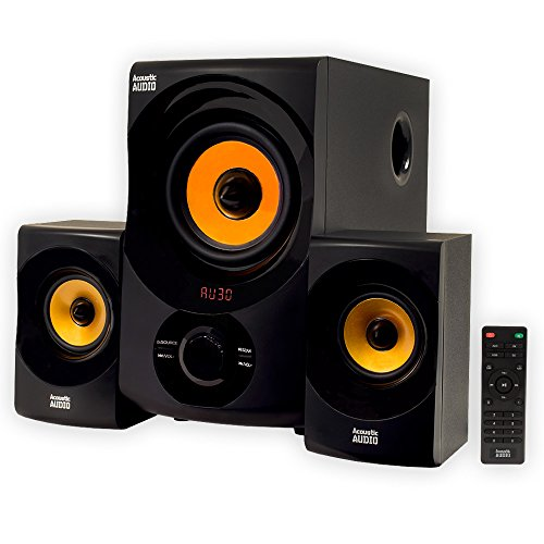 Acoustic Audio by Goldwood 2.1 Speaker System 2.1-Channel - Surround Sound System Rca