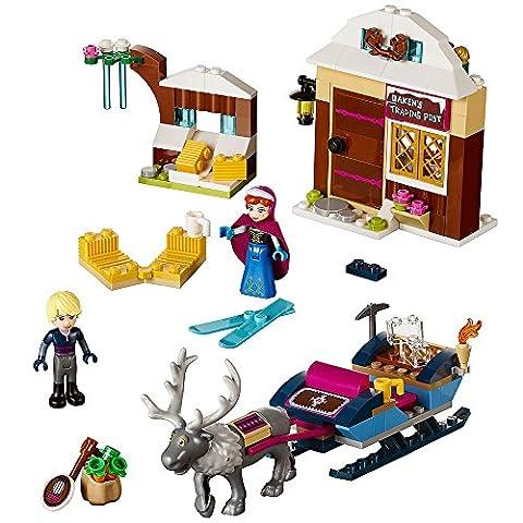 LEGO l Disney Frozen Anna & Kristoff's Sleigh Adventure 41066 Disney Toy (Lego Junior Princess)