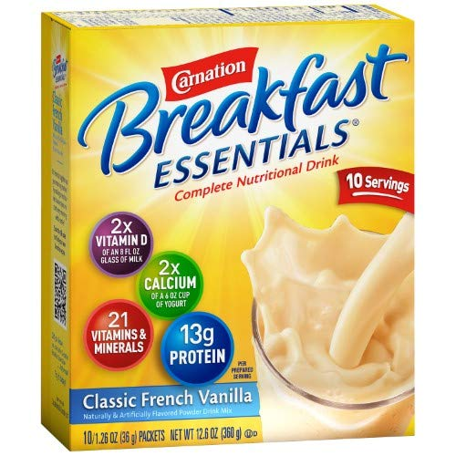 Carnation Breakfast Essentials Nutritional Drink (Pack of 36)