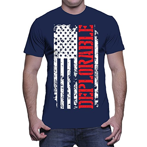 Deplorable Oversized White American T shirt