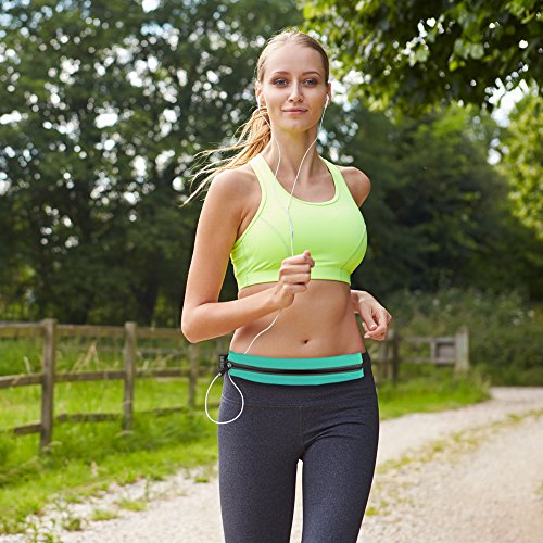Waterproof Sports Phone Waist Belt Bag - 5