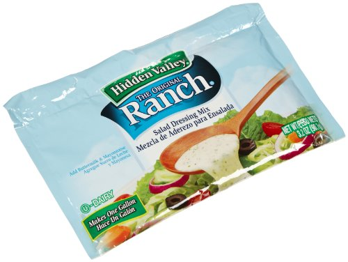 ingredients for hidden valley ranch dressing mix - 6