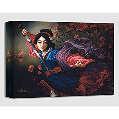 The Elegant Warrior by Heather Theurer - Treasures on Canvas - Disney Fine Art Featuring Mulan