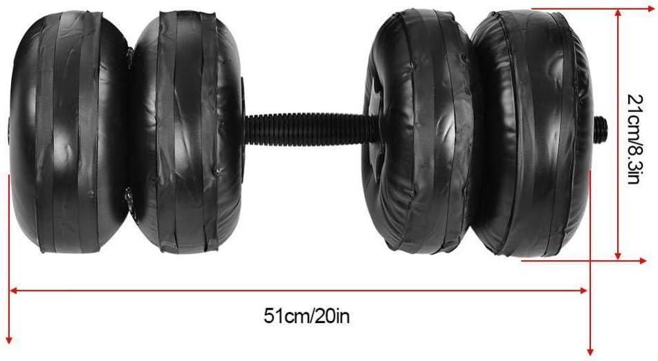 YXY 16-25 KG Fitness Brazo de Entrenamiento con Mancuernas Lleno de Agua Brazo de Entrenamiento Ajustable 16-20KG