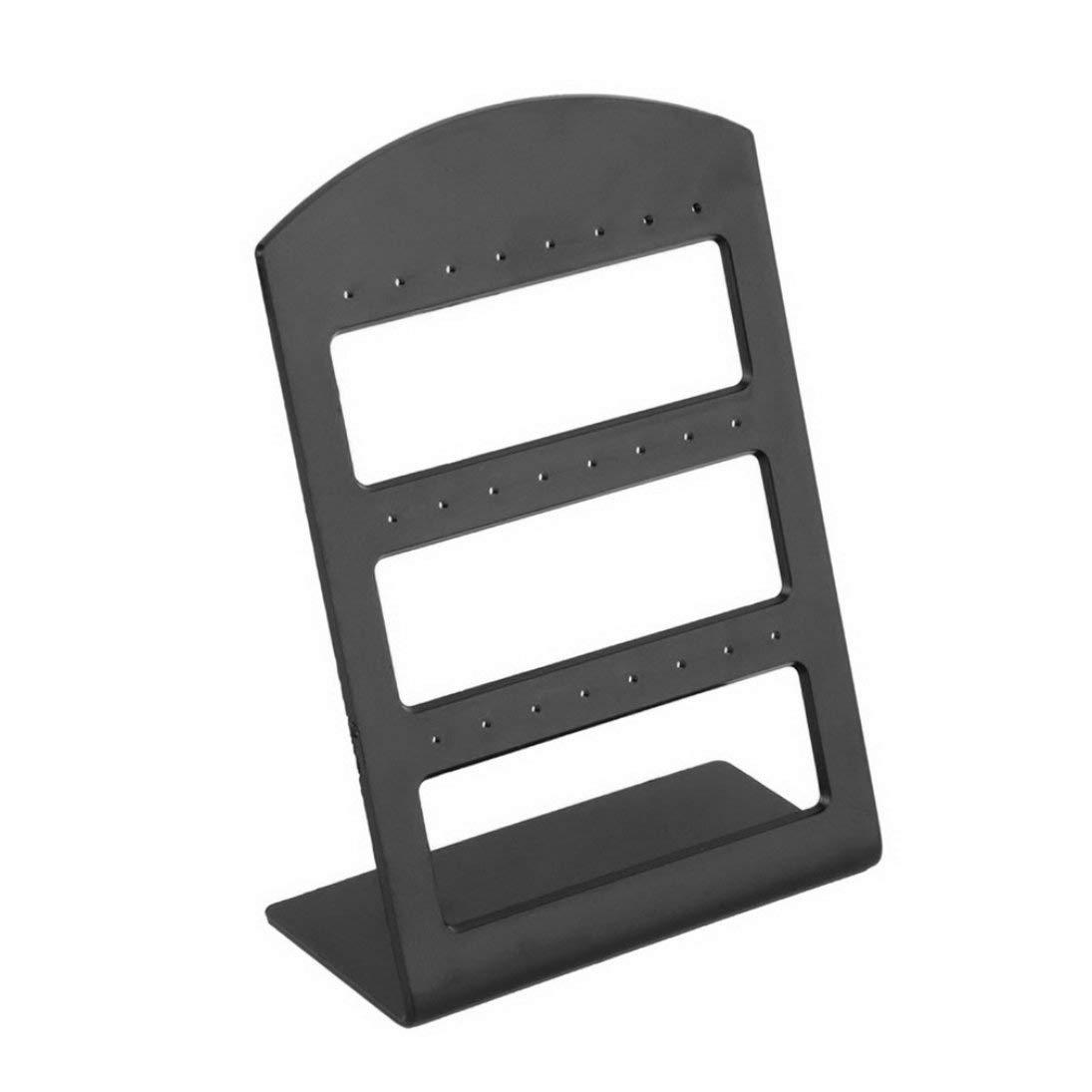 Baynne 24 Holes Plastic Earring Show Countertop Display Rack Stand Organizer Holder Jewelry Packaging /& Displays