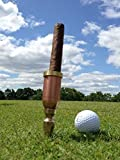 The Ultimate Cigar Holder for the golf course - The Golfer's Cigart. A gift for dad that he will love. A golf gift for the golfer who has everything. Great Cigar Gift for Groomsmen or Best Man.