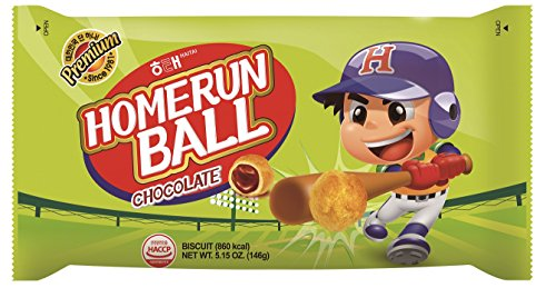 (Haitai Homerun Ball Chocolate, 5.1 Ounce (Pack of 12))