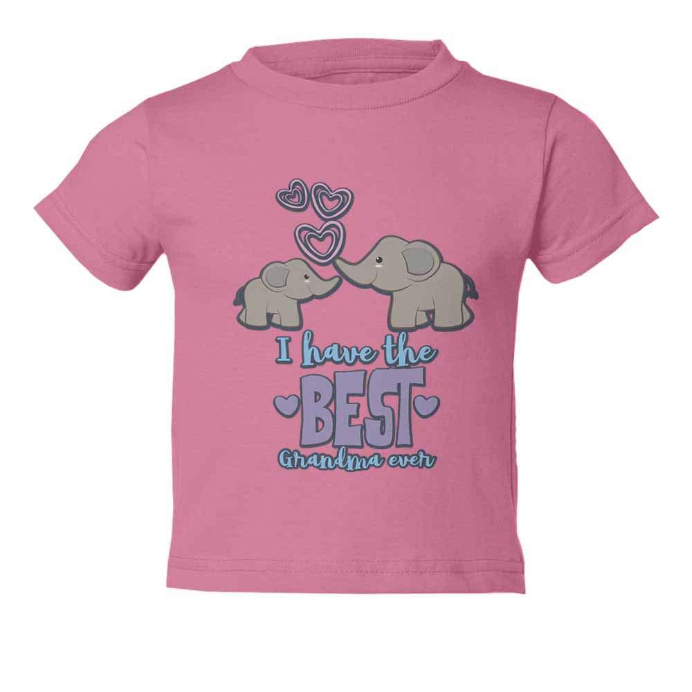 Grandchild Best Grandma Ever Graphic Youth /& Toddler Tee Shirt
