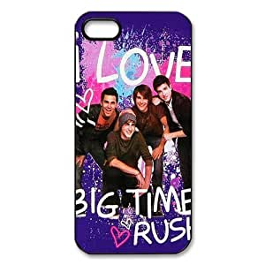 meilinF000BTR Big Time Rush Protective Design TPU Case For Iphone 5c - 1 Pack - Black/WhitemeilinF000