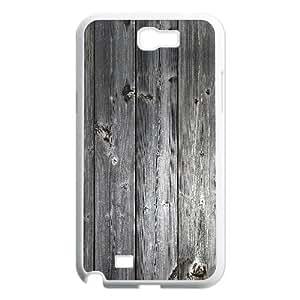 Vinceryshop Wood Floor Texture Samsung Galaxy Note 2 Case, Samsung Galaxy Note2 Case for Women {White}