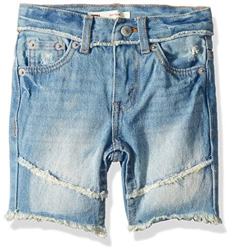 Levi's Boys' Big 511 Slim Fit Denim Shorts, Keanu, 8