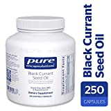 Pure Encapsulations - Black Currant Seed Oil - Hypoallergenic Dietary Supplement - 250 Softgel Capsules