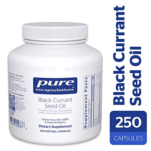 Pure Encapsulations - Black Currant Seed Oil - Hypoallergenic Dietary Supplement - 250 Softgel Capsules by Pure Encapsulations (Image #9)