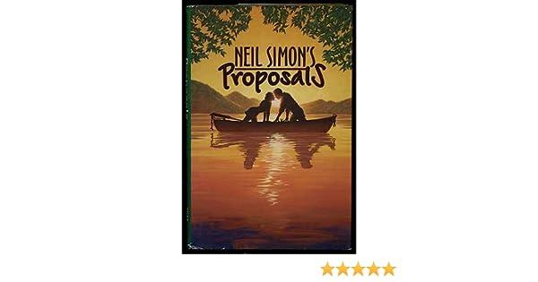 Proposals Neil Simon 9780739400715 Amazon Books