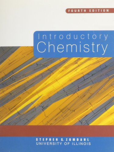 Introduction to Chemistry, Custom Publication
