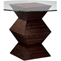 Sterling 6043240 Hohner Contemporary Plantation Grown Hardwood Table Base, 30-Inch, Zebrano