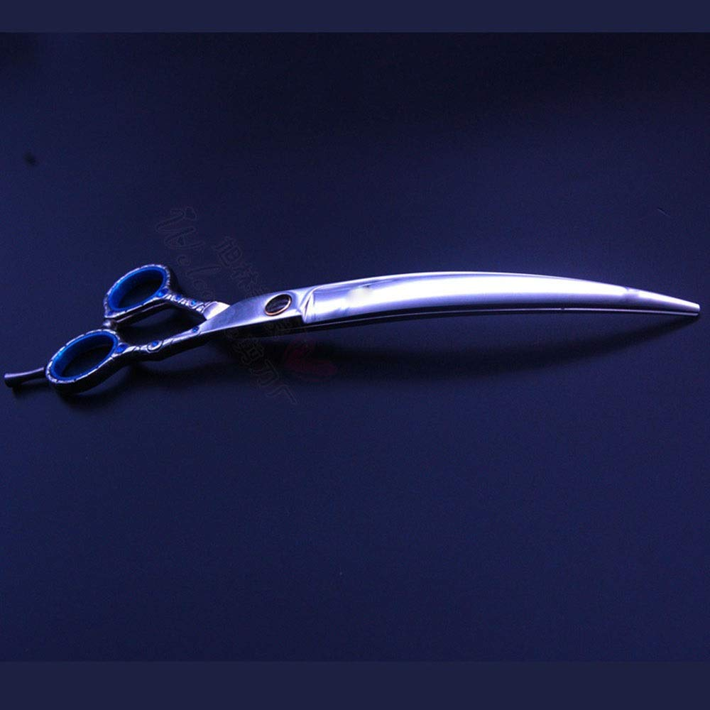 bluee Hemotrade 8inch Professional Pet Dog Grooming Scissors (color   bluee)