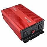 1500W Power Inverter For Home Car RV With AC Outlets Converter 12 V DC To 120 V AC Soyond