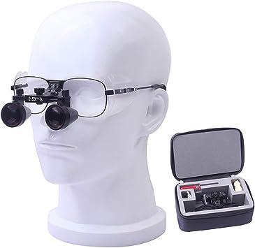 lunch box Lupa Quirúrgica Montada En La Cabeza Lupa, Lupa Médica De 3 Lentes Ajustables para Cirugía De Oído, Cirugía Dental, Cirugía De Laringoscopio: Amazon.es: Hogar