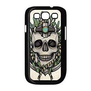 D-PAFD Phone Case Sugar Skull Hard Back Case Cover For Samsung Galaxy S3 I9300